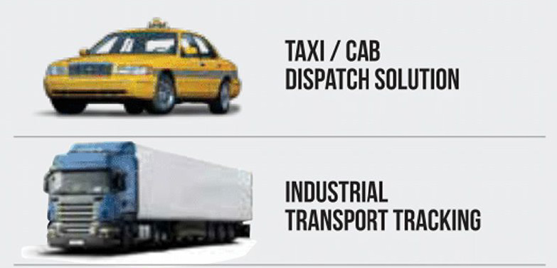 Taxi / Cab / Industrial Transport tracking